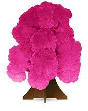 """Растущий  кристалл """"Дерево розовое"""""""