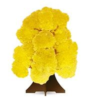 "Растущий кристалл ""Дерево желтое"""