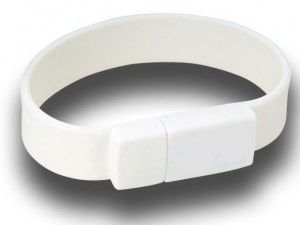 8GB USB-флэш накопитель Apexto U601A браслет белый