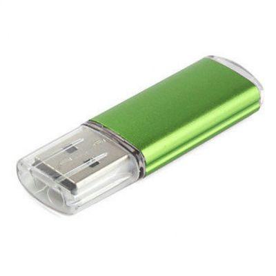 4GB USB-флэш накопитель Apexto U307B, зеленый с прозрачным колпачком