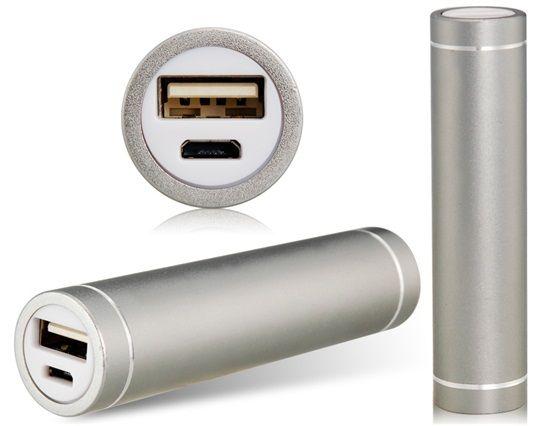 2200mAh Внешний аккумулятор  Apexto  APA1022100 серебро