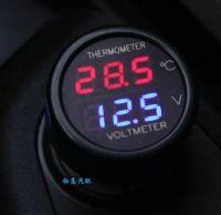 2 в 1 термометр и вольтметр для авто
