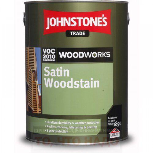 Лак JOHNSTONE`S Satin Woodstain