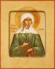 Икона Ксения Петербургская (рукописная)