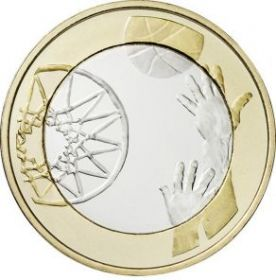 Баскетбол 5 евро Финляндия 2015