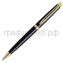 Ручка шариковая Waterman Hemisphere GT черный лак/позолота 22002/S0616100/S0920670