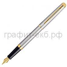 Ручка перьевая Waterman Hemisphere GT сталь/позолота 12010/S0920310