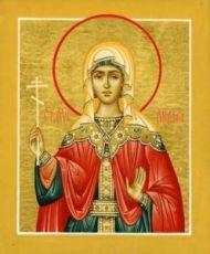 Икона Лидия Иллирийская (рукописная)