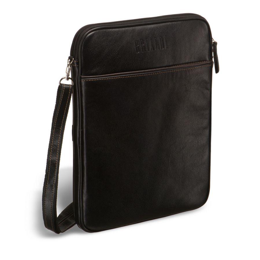 Кожаная сумка через плечо BRIALDI Matelica (Мателика) black