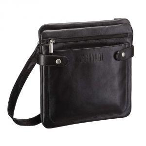 Кожаная сумка через плечо BRIALDI Nevada (Невада) black