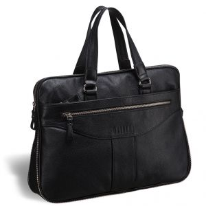 Деловая сумка для документов BRIALDI Paterson (Патерсон) black