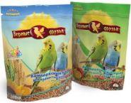 Верные друзья Корм для волнистых попугаев с минералами (500 г)