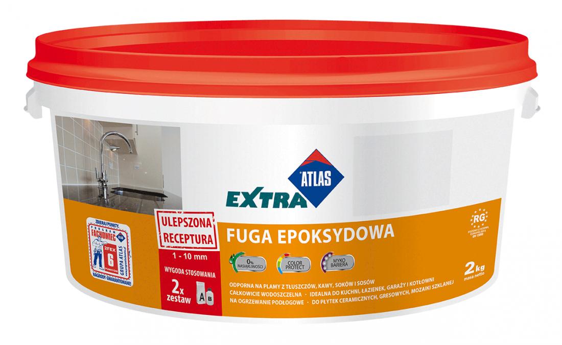 Затирка ATLAS Fuga Epoksydowa EXTRA эпоксидная