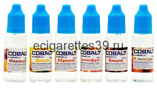 Жидкость Cobalt (содержание никотина 6 мг.)