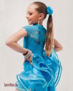 платье с органзой для девочки