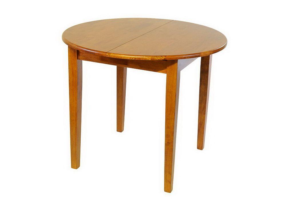 Стол деревянный обеденный овальный раскладной 3661