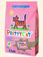 Pretty Cat Euro Mix Комкующийся глиняный наполнитель (10 кг)