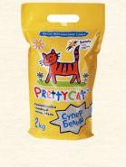"""Pretty Cat """"Супер Белый"""" Комкующийся наполнитель с ароматом ванили (2 кг)"""