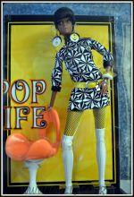 Коллекционная  кукла Барби Pop Life - Pop Life Doll (African-American)