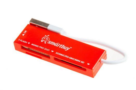 Картридер Smartbuy SBR-717-R (красный)