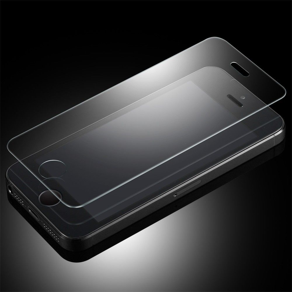 Защитное закаленное стекло на iPhone 5/5s/5c