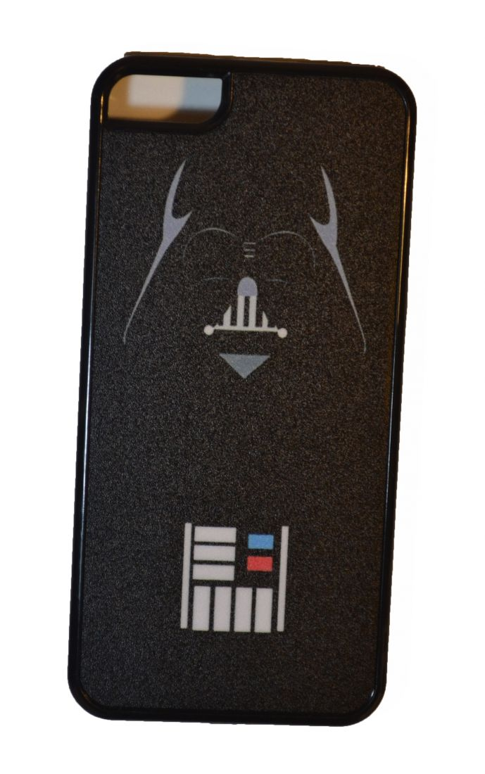 МАТОВЫЙ ЧЕХОЛ НА IPHONE 5/5S (Darth Vader)