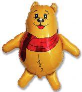 """Медвежонок в шарфике, 33""""/ 83 см"""