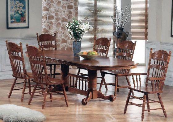 Стол деревянный обеденный раскладной Кантри 3641ТС