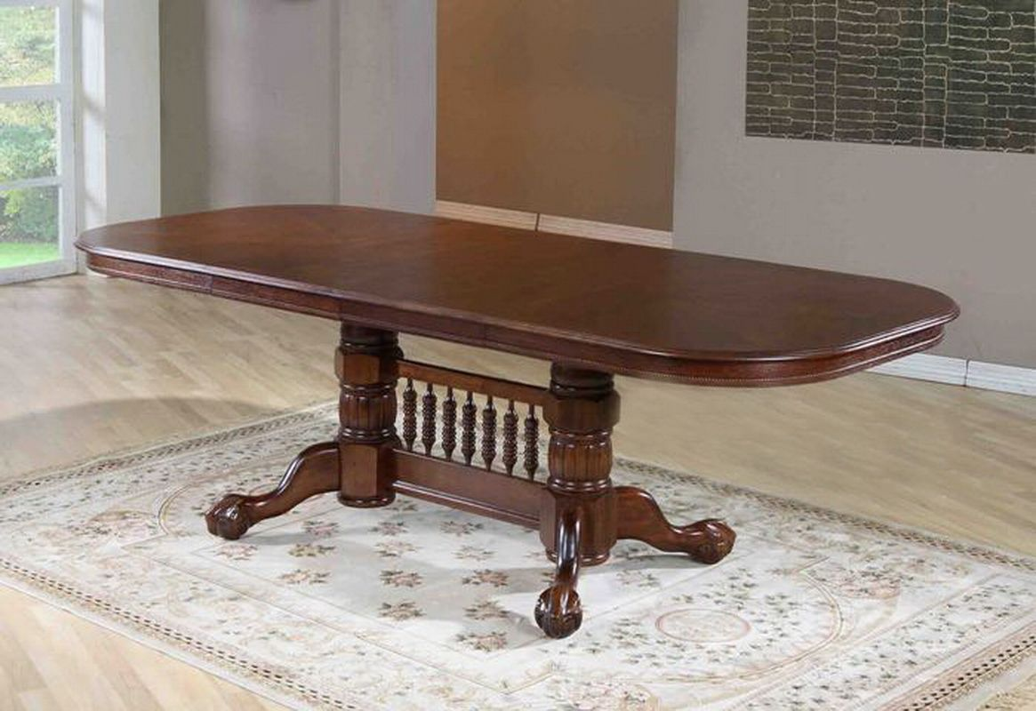 Стол деревянный обеденный раскладной Кантри 3641Т