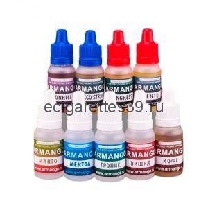 Жидкость Armango содержание никотина 24 мг.