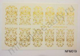 Наклейки для ногтей NFM 019