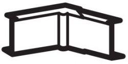 DLPlus Угол внутренний/внешний 40х20 белый