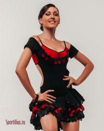 """Платье для девочек, латина """"Барселона"""""""