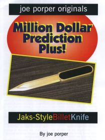 Billet Knife Jaks-Style by Joe Porper Предсказание в конверте