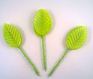 `Листик. 10 см. Цвет светло-зеленый, 10 шт