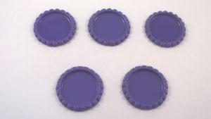 Крышка, материал металл, внутренний диаметр 25 мм, наружный 31 мм, цвет №09 (1 уп = 24 шт)