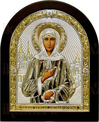 Ксения Петербургская (икона из серебра)
