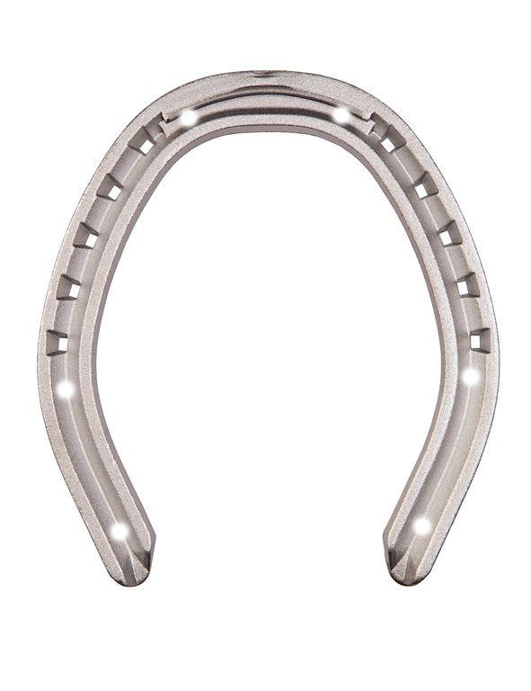 Подковы MUSTAD алюминиевые ЗИМНИЕ, под 6 шипов, с усиленной зацепной частью. 6х15
