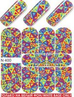 Слайдер-дизайн  N400  (водные наклейки)