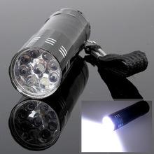 Мини фонарик на 9 светодиодов