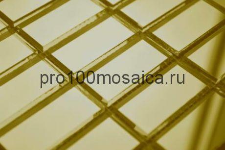 G42 Золотое зеркало. Мозаика зеркальная серия BASE, 306*306 мм (VIVERE)