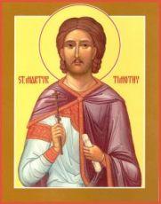 Икона Тимофей Фиваидский (рукописная)