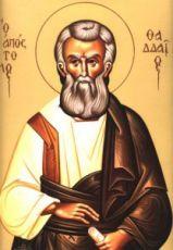 Фаддей, апостол от 70-ти (рукописная икона)