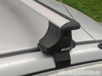Багажник на крышу Hyundai Accent, Атлант, крыловидные аэродуги