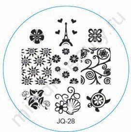 Диск для стемпинга JQ-28