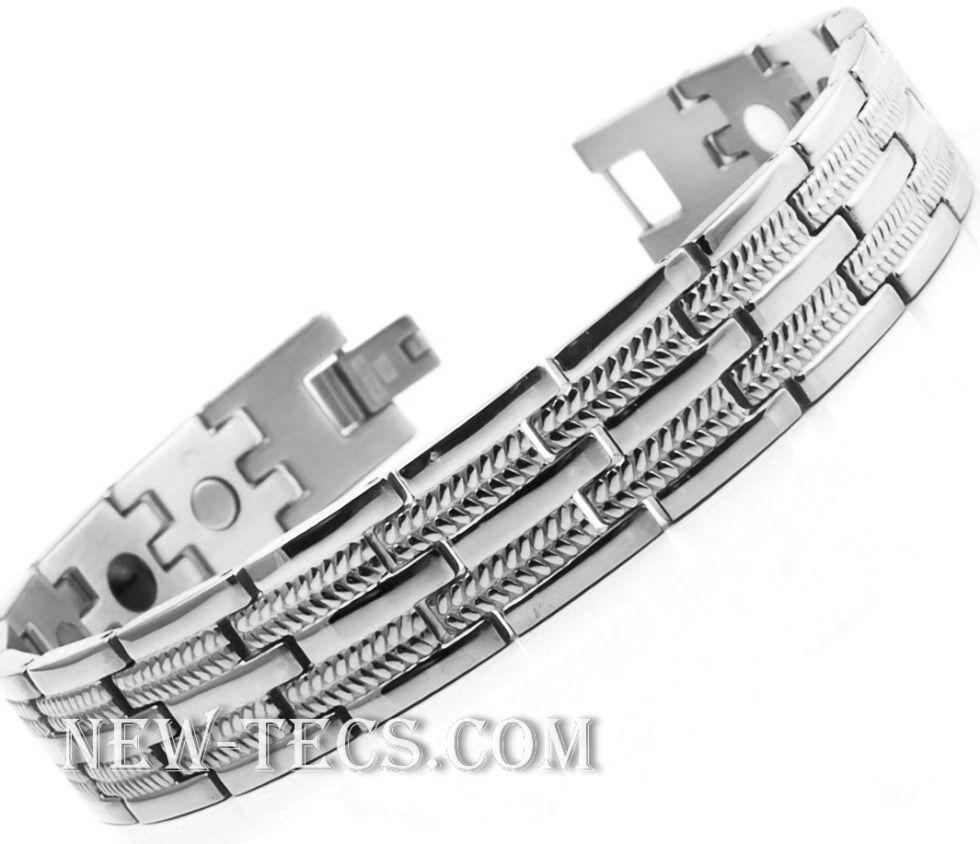 Титановый браслет STB-0476SNT-W