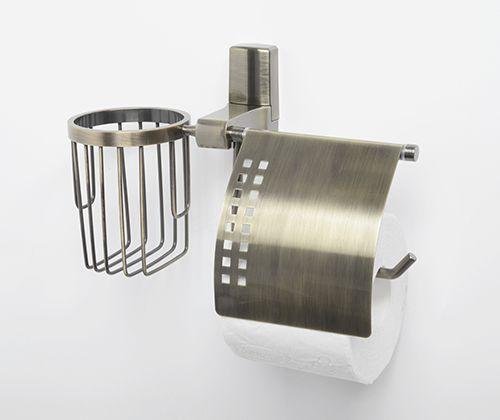 WasserKraft Exter K-5200  Держатель туалетной бумаги и освежителя