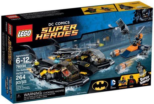 76034 Супергерои: Погоня в Бухте на Беткатере Конструктор ЛЕГО Супергерои