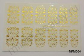 Наклейки для ногтей NFM 004