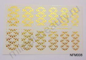 Наклейки для ногтей NFM 008